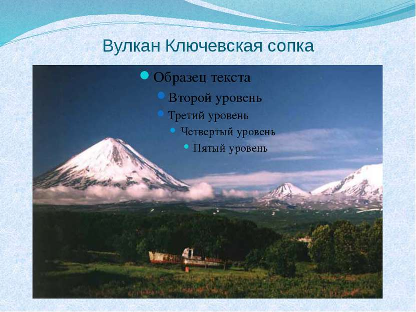 Вулкан Ключевская сопка