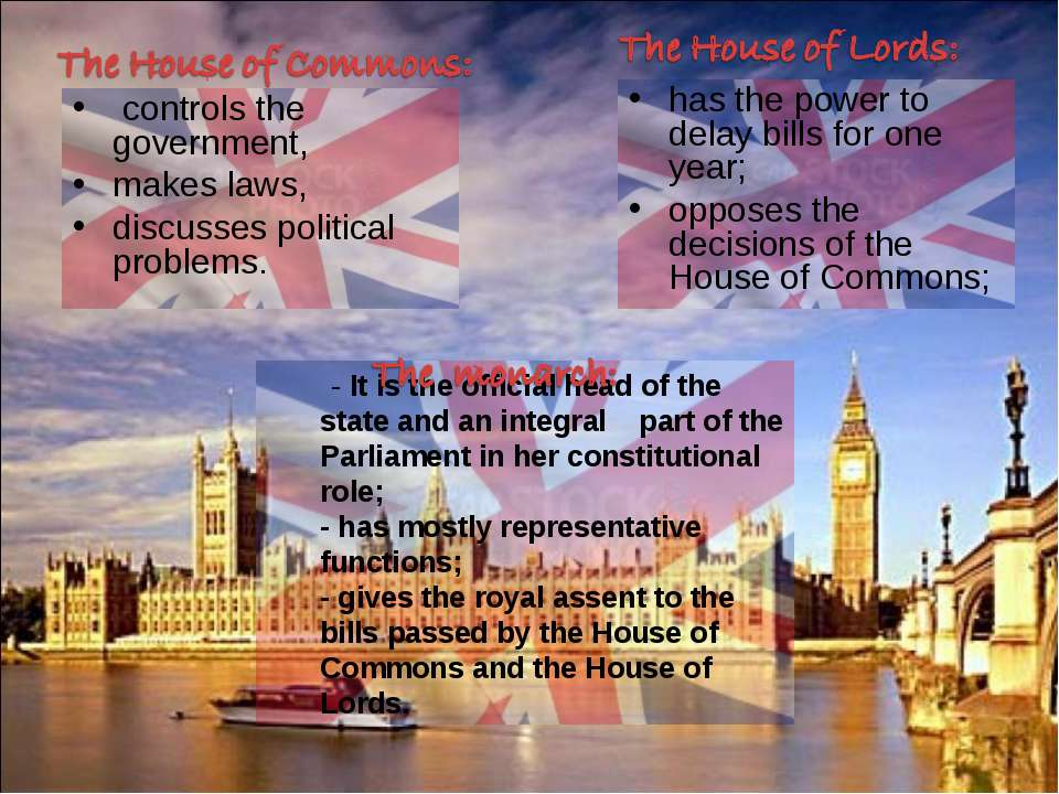 - It is the official head of the state and an integral part of the Parliament...