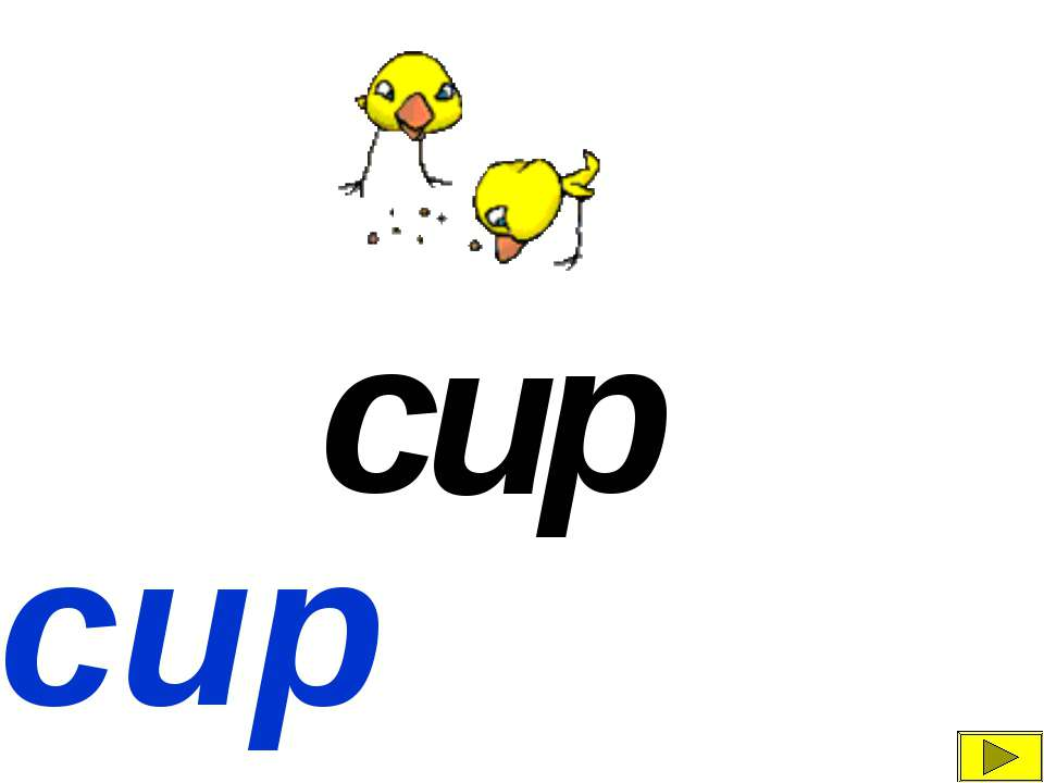 c u p cup