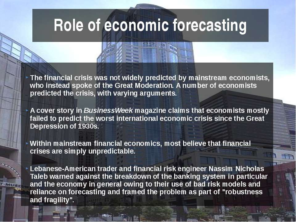 what brought on the financial crisis of How the great recession was brought to an end 1 how the great recession was brought to an end by alan s blinder and mark zandi1 t he us government's response to the financial crisis and ensuing great recession included some.