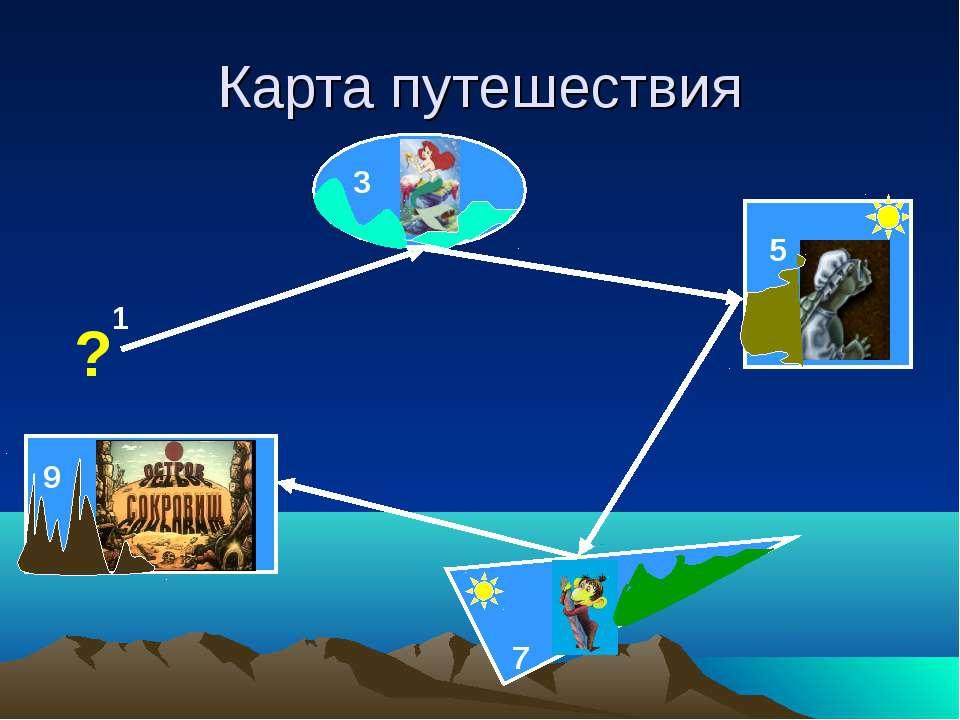 Карта путешествия 1 ?