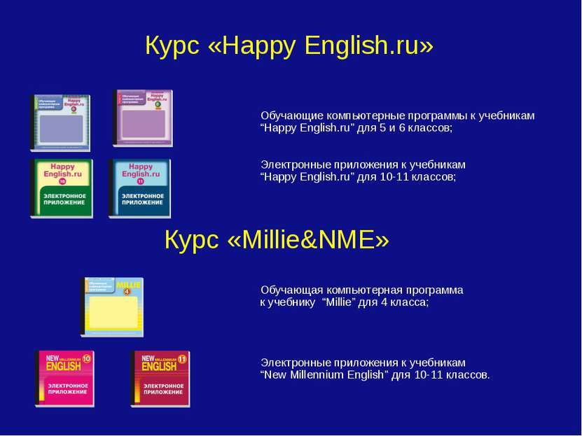 """Курс «Happy English.ru» Обучающие компьютерные программы к учебникам """"Happy E..."""