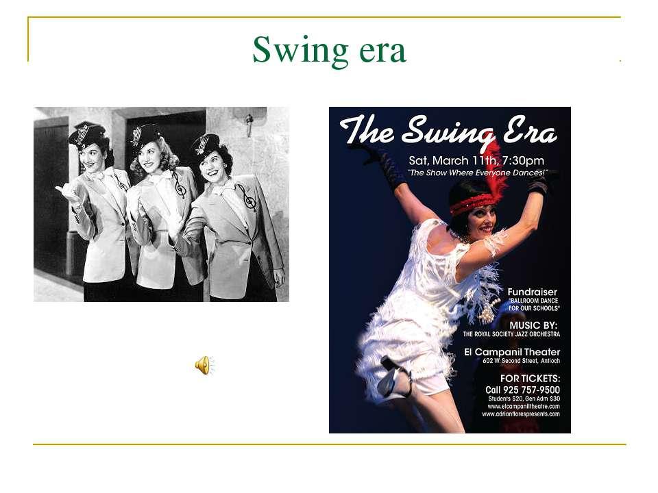 Swing era