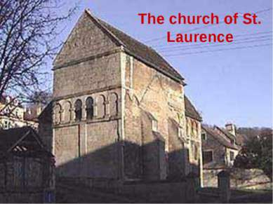 The church of St. Laurence