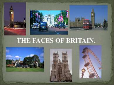 THE FACES OF BRITAIN.
