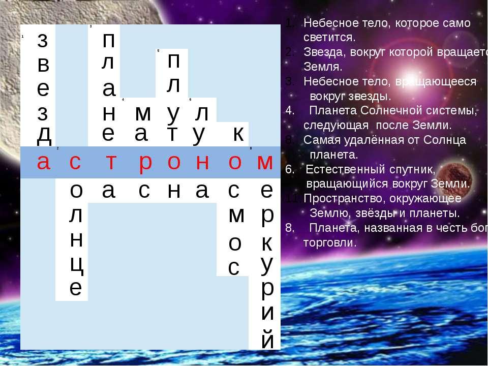 з в е з д а с о л н ц е п л а н е т а м а р с п л у т о н л у н а к о с м о с...