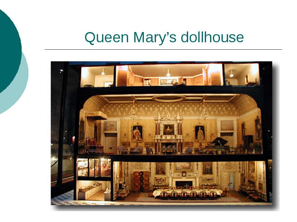 Queen Mary's dollhouse