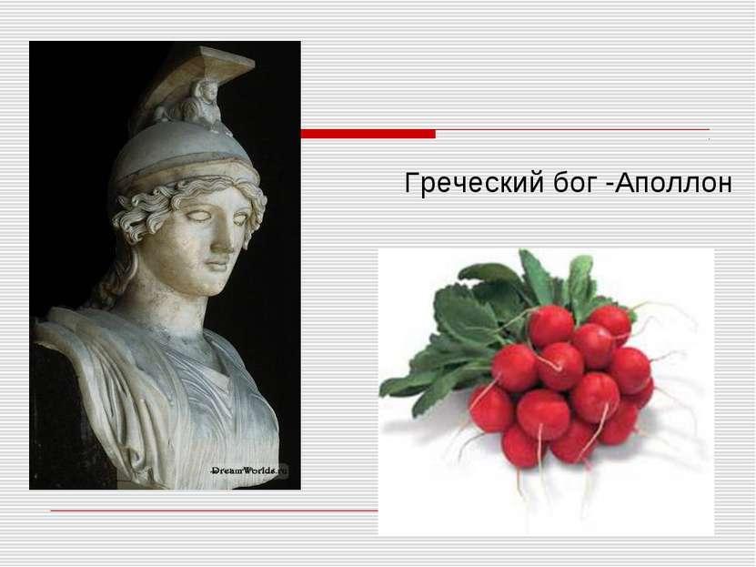 Греческий бог -Аполлон
