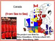Canada (from Sea to Sea)